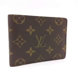Louis Vuitton - Bi fold wallet, Monogram, Canvas