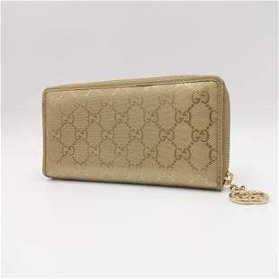 Gucci - Zippy wallet, GG imprime, Coated canvas