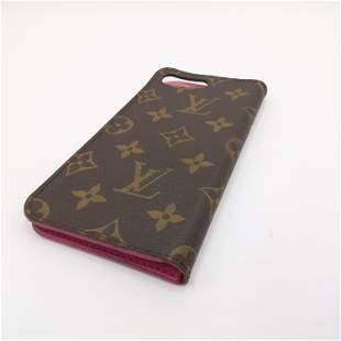Louis Vuitton - Iphone case, Monogram, Canvas