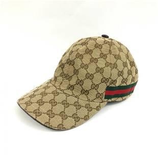 Gucci - Baseball cap, Web line, GG canvas, Canvas