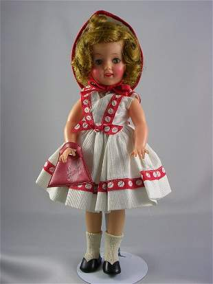 """12"""" VINYL SHIRLEY TEMPLE BY IDEAL"""