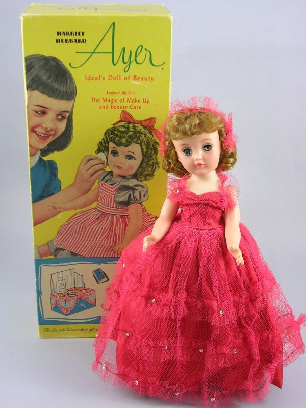 "12: 14"" HARRIET HUBBARD AYER DOLL IN BOX"