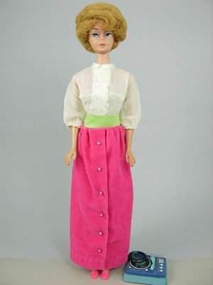 """Bubble Cut Barbie wearing """"Disc Date"""""""
