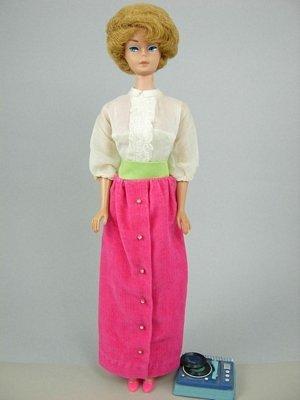 """1: Bubble Cut Barbie wearing """"Disc Date"""""""