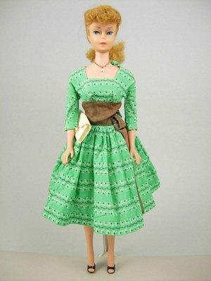 """2: #6 Ponytail Barbie wearing """"Swingin' Easy"""""""
