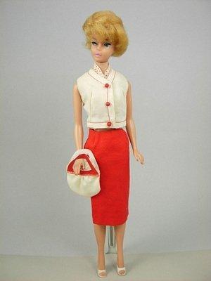 """7: Bubble Cut Barbie wearing """"Crisp 'n Cool"""
