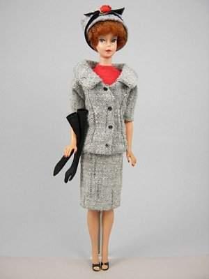 "Bubble Cut Barbie wearing ""Career Girl"""