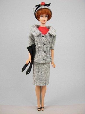 "9: Bubble Cut Barbie wearing ""Career Girl"""