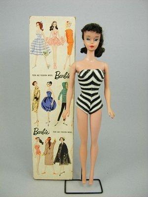 17: #4 Ponytail Barbie in original box