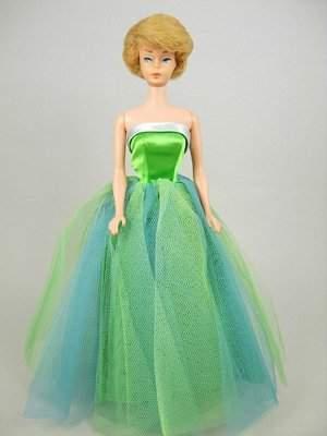 "Bubble Cut Barbie wearing ""Senior Prom"""