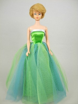 "23: Bubble Cut Barbie wearing ""Senior Prom"""
