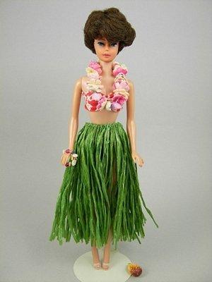 """24: Bubble Cut Barbie wearing """"Barbie in Hawaii"""""""