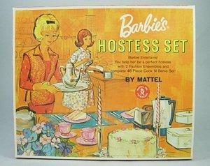 205: Barbie's Hostess Set, NRFB