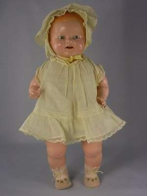 """17"""" COMPOSITION CHUCKLES TODDLER BY CENTURY DOLLS"""