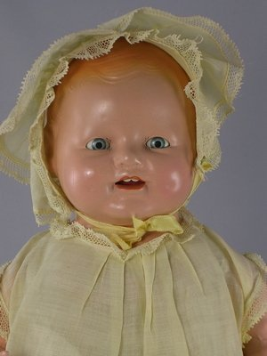 """1: 17"""" COMPOSITION CHUCKLES TODDLER BY CENTURY DOLLS - 2"""