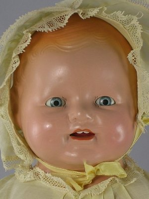 """1: 17"""" COMPOSITION CHUCKLES TODDLER BY CENTURY DOLLS - 3"""