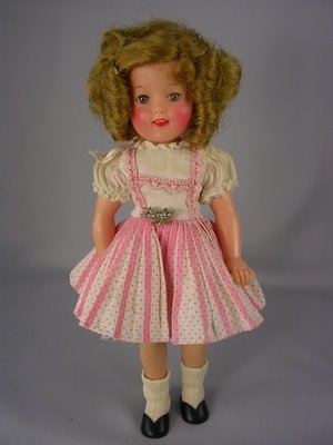 """2: 12"""" 1957 VINYL SHIRLEY TEMPLE BY IDEAL"""