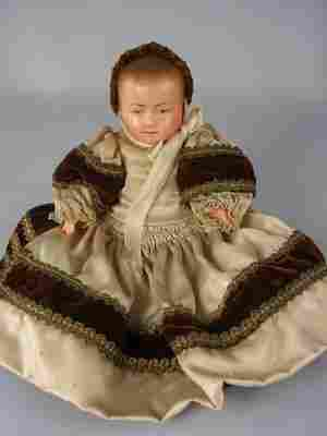 """5"""" FRENCH CELLULOID BABY BY PETITCOLIN"""