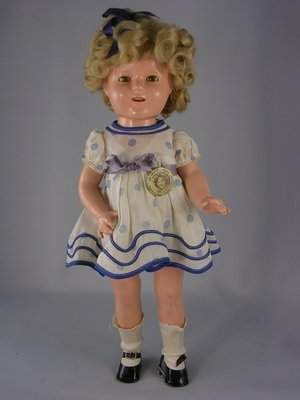 """17"""" COMPO SHIRLEY TEMPLE PROTOTYPE DOLL BY IDEAL"""