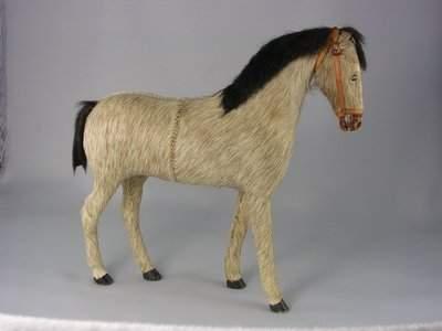 """42: 11"""" (H) HORSEHAIR HORSE"""