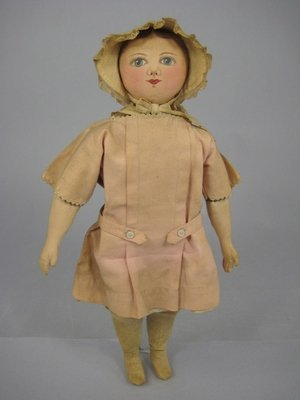 "91: 13"" REPRODUCTION COLUMBIAN DOLL"