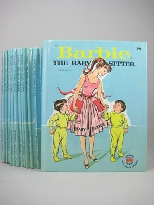 """17: SIXTEEN """"BARBIE THE BABY SITTER"""" BOOKS"""
