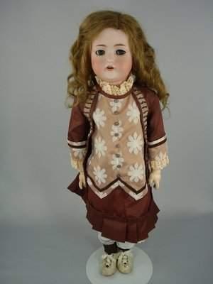 "26"" BRUNO SCHMIDT GERMAN CHILD DOLL/FLIRTY EYES"