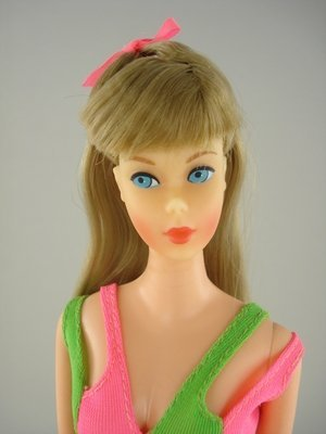 1: BLONDE STANDARD BARBIE IN 2ND ISSUE SWIMSUIT