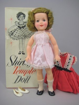 """5: 12"""" IDEAL SHIRLEY TEMPLE, BOXED"""