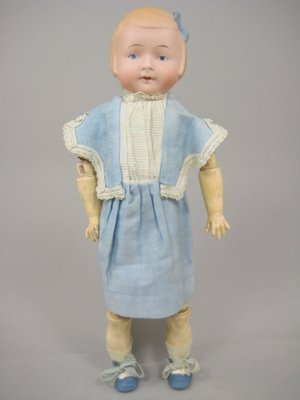 """20: 11"""" GERMAN CHARACTER CHILD MARKED 1900"""