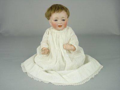 """24: 12"""" JDK 211 GERMAN BISQUE HEAD CHARACTER BABY"""