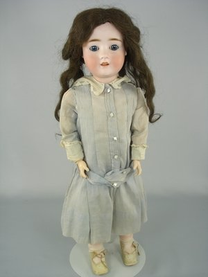 """77: 23"""" PANSY IV GERMAN BISQUE HEAD DOLL"""