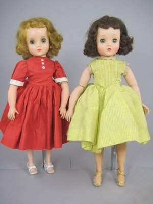 """TWO 16"""" ELISE DOLLS BY ALEXANDER"""