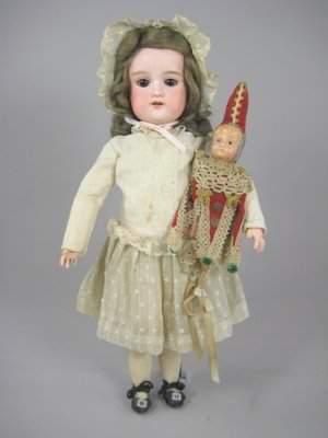 """16"""" AM FLORODORA GERMAN CHILD DOLL"""