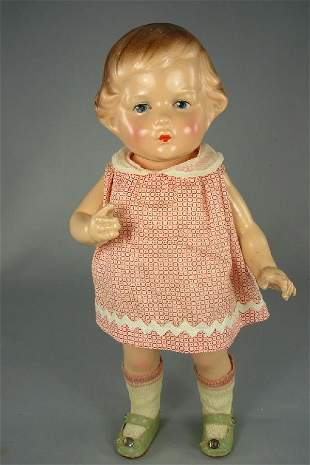 """13"""" COMPOSITION """"IT"""" DOLL BY AMBERG"""