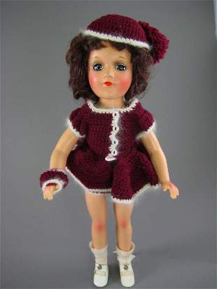 """14"""" COMPOSITION MARY HOYER DOLL"""