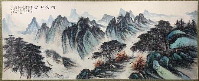 chinese li xiongcai's painting