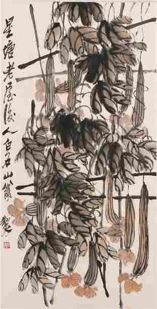 chinese qi baishi's painting