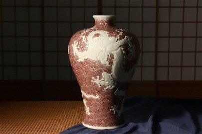 Qing dynasty, Yong zheng style, Dragon pattern