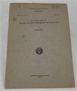 Analysis of Plains Indian Parfleche Leslie Spier
