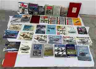 Large Lot of Military History Books