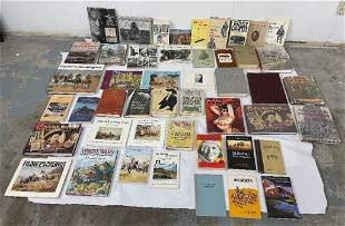 Large Lot of Western History Books Montana