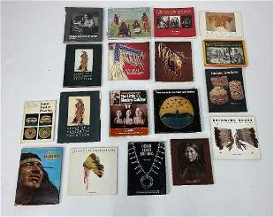 Lot of Native American Indian Books Catalogs