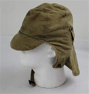 WW2 US Navy Cold Weather Deck Hat 7 1/4