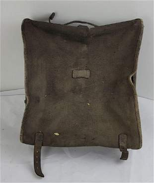 French Army WW1 Hard Backpack