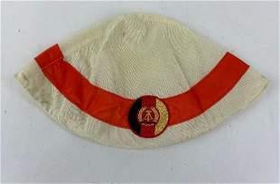 East German Helmet Cover Traffic Controller