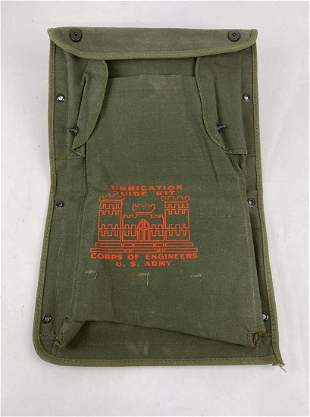 US Army Corps of Engineers Lubrication Guide Bag