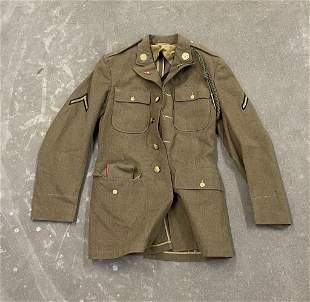WW2 4 Pocket US Army Jacket Uniform Coat 37L