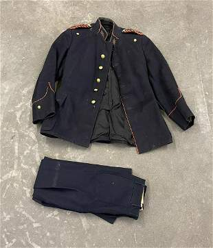 WW1 French Musicians Uniform Coat and Pants
