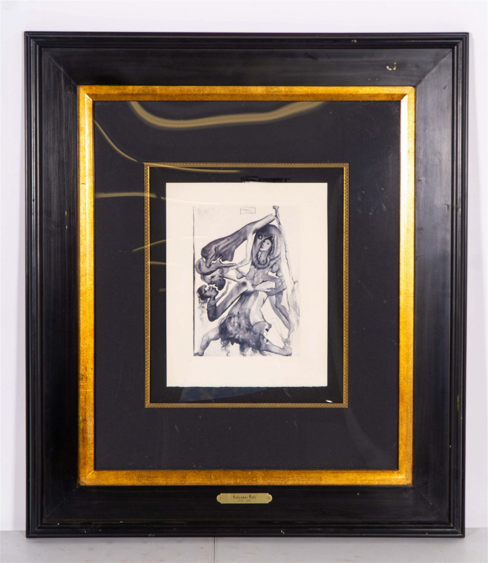 Limited Edition Signed in the Plate Engraving Salvador
